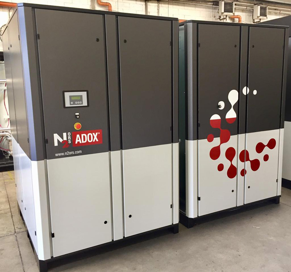 N2 ORS® Fire Prevention plant delivered for European Archive
